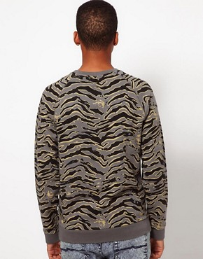 Image 2 ofASOS Sweatshirt With Animal Print