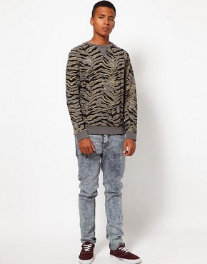 Image 4 ofASOS Sweatshirt With Animal Print