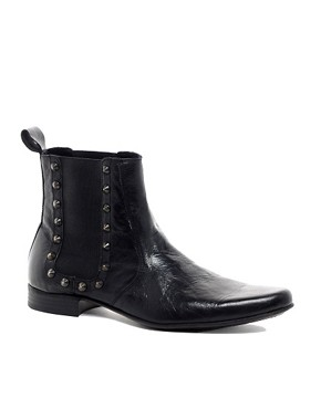 Image 1 ofASOS Chelsea Boots With Studs