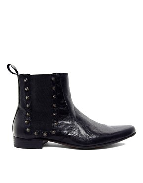 Image 4 ofASOS Chelsea Boots With Studs
