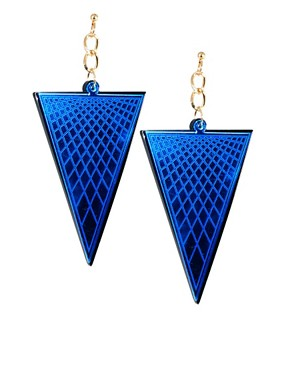 Image 1 ofLimited Edition Oversize Triangle Earrings