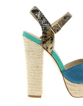 Image 2 ofALDO Herridge Espadrille Platform Heeled Sandals