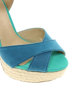 Image 3 ofALDO Herridge Espadrille Platform Heeled Sandals