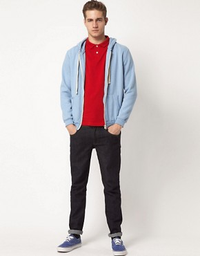Image 4 ofASOS Polo In Pique Jersey