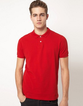 Bild 1 von ASOS  Polohemd aus Pikee-Jersey