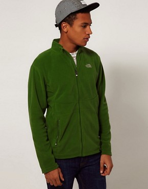 Image 1 ofThe North Face 100 Glacier Full Zip Fleece Jacket
