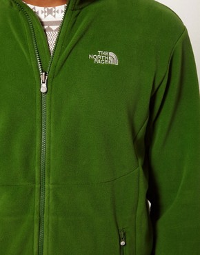 Image 3 ofThe North Face 100 Glacier Full Zip Fleece Jacket