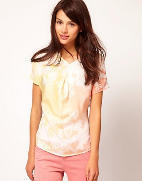 Image 1 ofWarehouse Sunset Print Top
