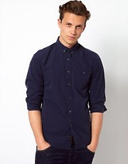 Wolsey Shirt In Poplin Cotton