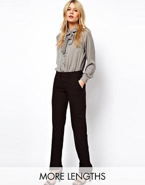 Image 1 ofASOS Trousers In Straight Leg