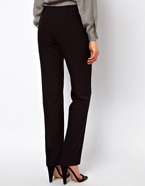 Image 2 ofASOS Trousers In Straight Leg