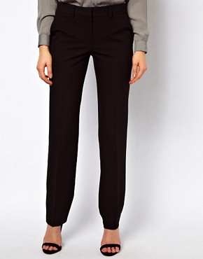 Image 4 ofASOS Trousers In Straight Leg