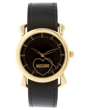 Image 4 ofMoschino Watch With Dual Leather and Silk Straps