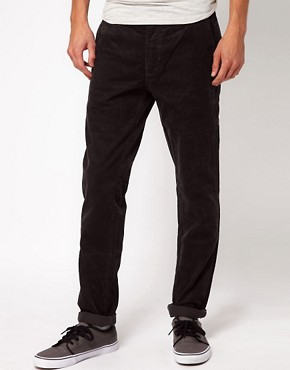 Image 1 ofMinimum Slim Fit Cord Trouser