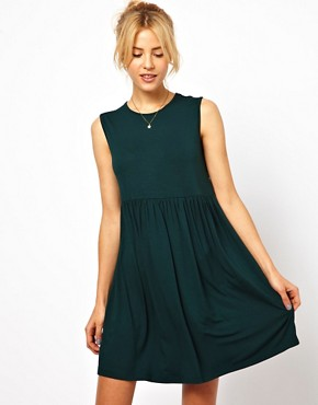 Image 1 ofASOS Sleeveless Smock Dress