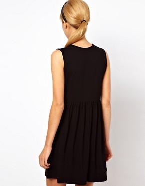 Image 2 ofASOS Sleeveless Smock Dress