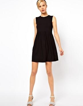 Image 4 ofASOS Sleeveless Smock Dress