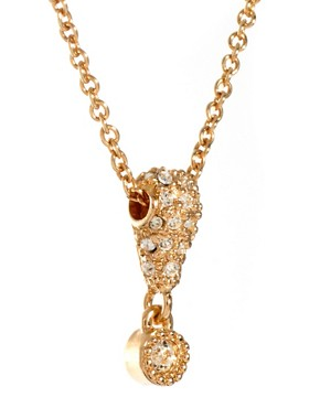 Image 4 ofSusan Caplan Vintage Christian Dior 90s Crystal Drop Pendant Necklace