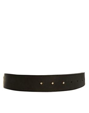 Image 3 ofASOS Triangle Metal Plate Detail Waist Belt