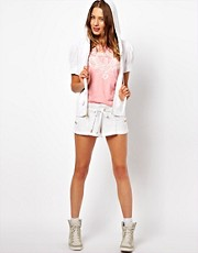 Juicy Couture Micro Terry Double Shorts