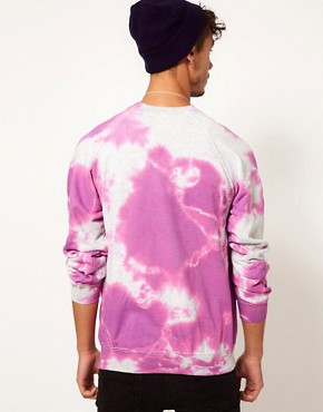 Image 2 ofReclaimed Vintage Sweat with Get Rich or Tie-Dying Print