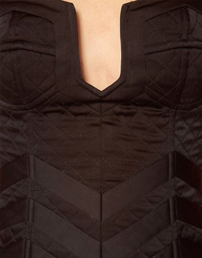 Image 3 ofASOS REVIVE Quilted Corset