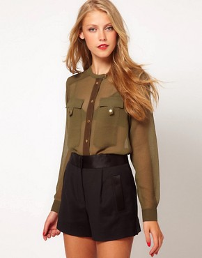 Image 1 ofASOS Utility Blouse