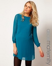 ASOS Maternity Shift Dress With 70&#39;s Sleeve
