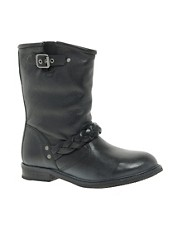 H by Hudson Albion Biker Boots