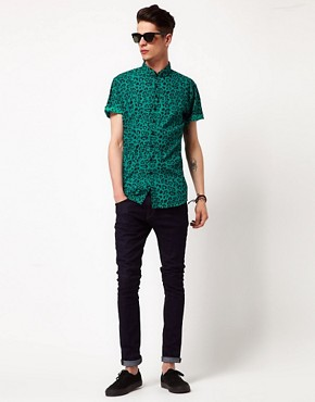Image 4 ofVillage Green Animal Print Shirt