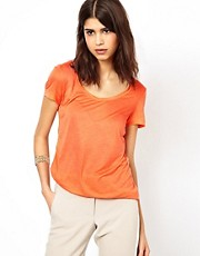 Selected - Dex - T-shirt basic a maniche corte