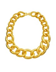 Kenneth Jay Lane Chunky Chain Link Necklace