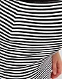 Image 3 of ASOS Maternity Pencil Skirt In Mono Stripe