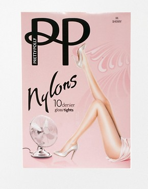Image 3 ofPretty Polly 10 Denier Gloss Tights