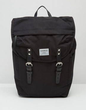 Sandqvist Hans Cordura Backpack In Black