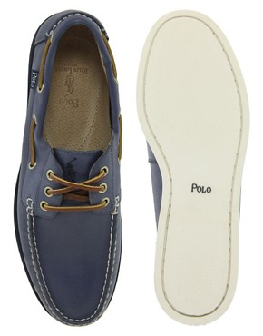 Image 3 ofPolo Ralph Lauren Blackley Boat Shoes