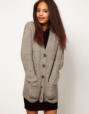 ASOS Chunky Rib Cardigan