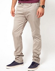 Chinos de corte slim Chi de Diesel