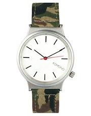 Komono Watch Woodland Camo Wizard-Print Series