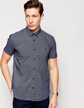 Barbour Shirt With Cross Print Shirt