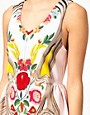 Image 3 ofAlice McCall Playsuit in Framed Floral Print Silk