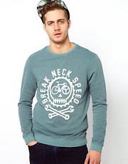 ASOS Sweatshirt With Fix Great Print
