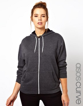Image 1 ofASOS CURVE Sweat Hoodie