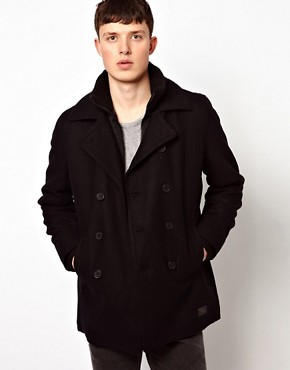 Image 1 ofBen Sherman Rib Neck Jacket