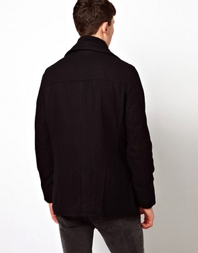 Image 2 ofBen Sherman Rib Neck Jacket