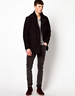 Image 4 ofBen Sherman Rib Neck Jacket