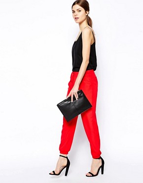 ASOS Pants with Elastic Ankle Detail