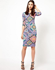 A Wear Printed T-Shirt Dress