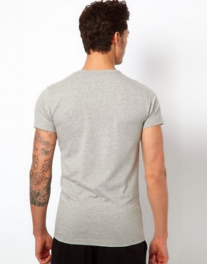 Image 2 ofJack &amp; Jones Intelligence Basic V Neck T-Shirt