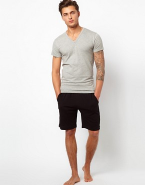 Image 4 ofJack &amp; Jones Intelligence Basic V Neck T-Shirt